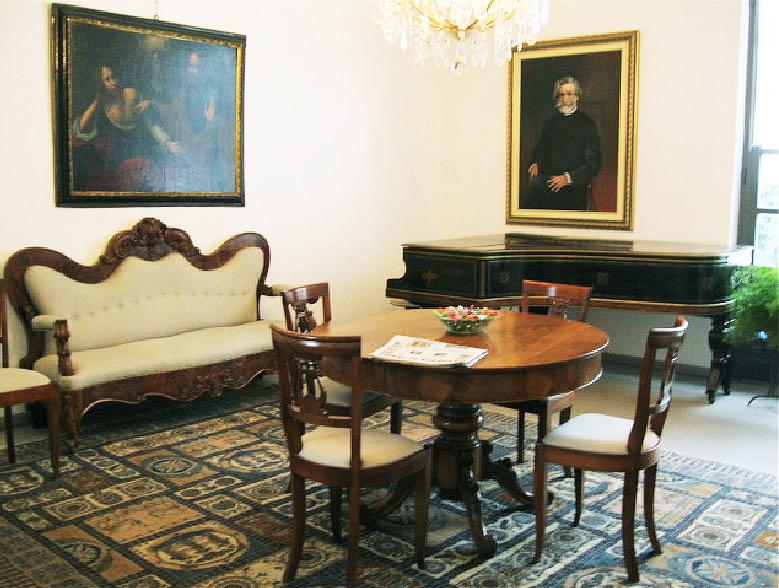 sala del commiato tra Parma e Reggio Emilia - Bola
